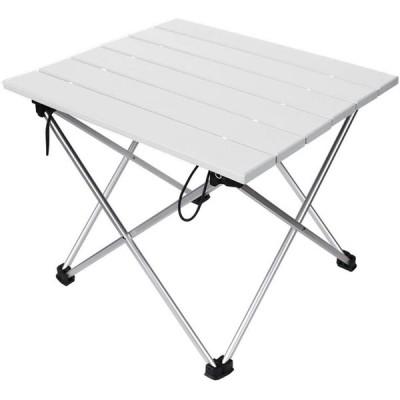 STL テーブル 折りたたみ ロールテーブル アウトドア 耐荷重30kg コンパクト キャンプ BBQ 釣り (40*34*32cm)