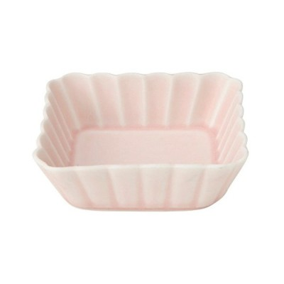 小鉢 和食器 / かすみ さくら 11cm浅角鉢 寸法: D-11.3 H-3.2cm