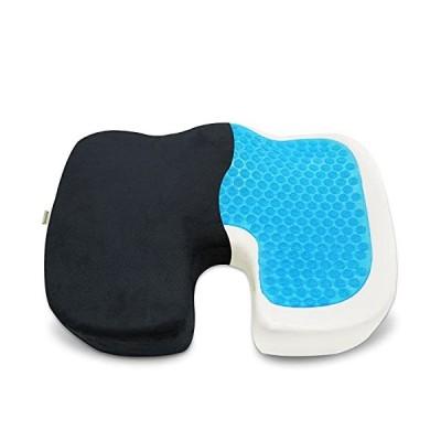ZENOPHON 低反発 座布団 くっしょん 姿勢矯正 骨盤矯正 クッション 座り心地 とって付き プレゼント 持ち運ぶ便利