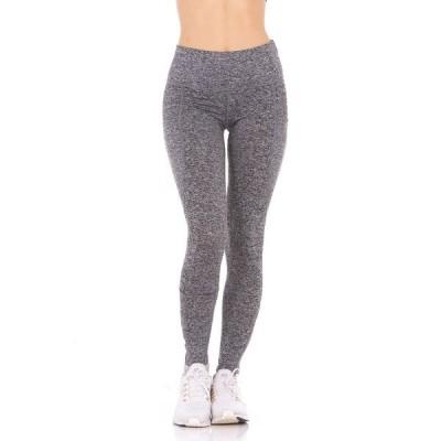 セラピー カジュアルパンツ ボトムス レディース Women's Perforated Side Pockets High-Rise Leggings Heather Gray