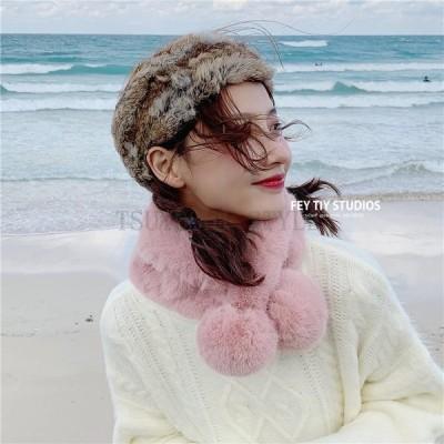 秋冬 ファッション小物 レディースマフラー ボアマフラー 可愛い カジュアル 無地 ふわふわ 保温