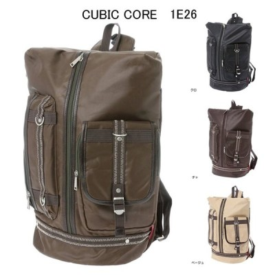 A4対応 リュック・ディパック ジグザグステッチリュックサック・通勤 通学(CUBIC CORE)BAG-RUCK-4192835-1E26