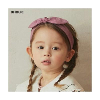 キッズ ヘアバンド ヘアーバンド ヘアアクセサリー リボン りぼん 単色 無地 シンプル 可愛い かわいい 女の子 韓国 韓国子供服 子供 こども 子供服 こども服