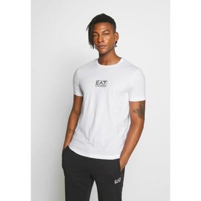エンポリオ アルマーニ Tシャツ メンズ トップス Print T-shirt - white