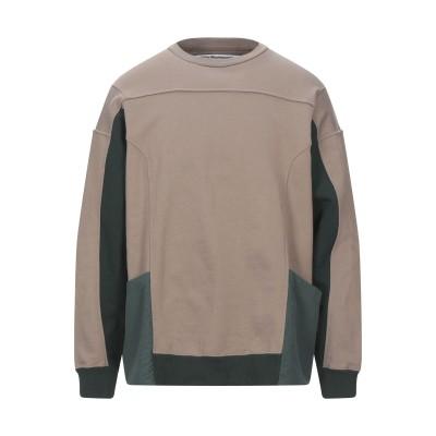 WHITE MOUNTAINEERING スウェットシャツ ライトブラウン 1 コットン 100% / ポリウレタン スウェットシャツ