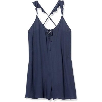 Roxy レディース ひまわり スピリット織 ロンパース US サイズ: Large カラー: ブルー