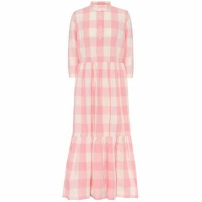 ウールリッチ Woolrich レディース ワンピース シャツワンピース ワンピース・ドレス Checked cotton shirt dress Rose Buffalo