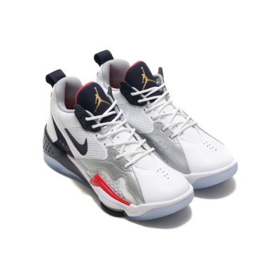 スニーカー JORDAN BRAND JORDAN ZOOM '92 (WHITE/OBSIDIAN-TRUE RED-METALLIC SILVER