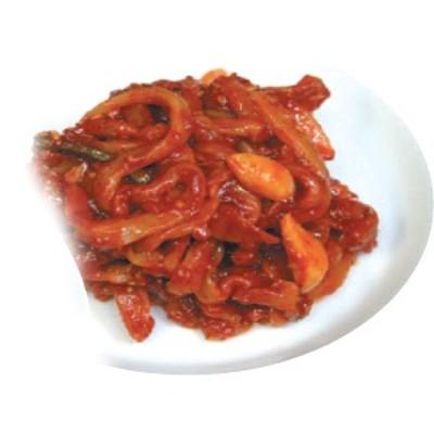 『キムチ風イカの塩辛(1kg)』【冷蔵】韓国商品韓国料理