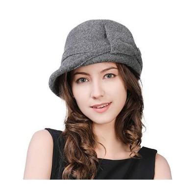 帽子 レディース ボーラーハット 秋冬 女優帽 婦人帽子 ハット ウール 自転車 かわいい おしゃれ フォーマル ゴルフ シッギ Siggi 56 5