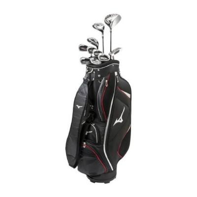 ミズノ公式 メンズゴルフクラブ10本セット/RV-7 キャディバッグ付/カーボンシャフト ブラック
