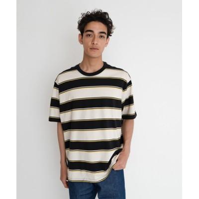 tシャツ Tシャツ STAY LOOSE SS TEE GILIA CAVIAR STRIPE