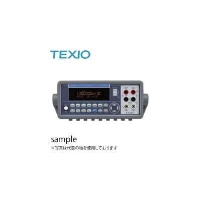 テクシオ(TEXIO) DL-1060VR(RS-232C) USB標準装備 RS-232Cモデル 6・1/2桁デュアルディスプレイ・デジタルマルチメータ