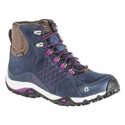 オボズ Oboz レディース ハイキング・登山 ブーツ シューズ・靴 Sapphire Mid BDry Boot Huckleberry