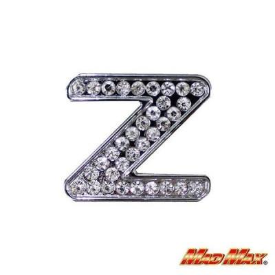 ダイヤ文字エンブレム シルバー Z MAD MAX(マッドマックス)