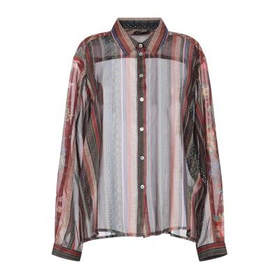 ONLY シャツ ブラウン 36 ポリエステル 100% シャツ