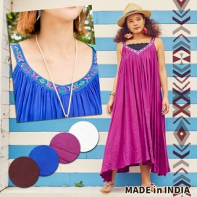 チャイハネ 公式 [ストオメワンピース] エスニック アジアン  ファッション ワンピース IDS-0409