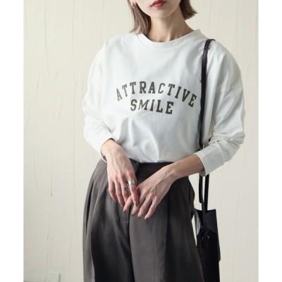 tシャツ Tシャツ しっかりコットンヘビーウエイトカレッジプリントTシャツ