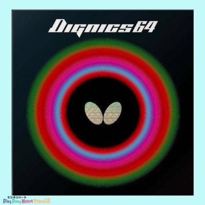 【ネコポス対象】バタフライ(Butterfly) ディグニクス64  DIGNICS64  06060 ブラック/レッド ピンポンハー トYahoo!店