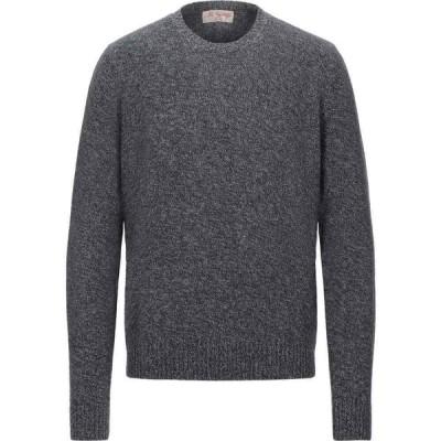 マックジョージ MC GEORGE メンズ ニット・セーター トップス sweater Steel grey