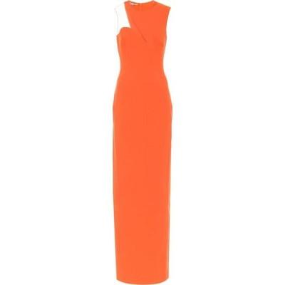 ステラ マッカートニー Stella McCartney レディース パーティードレス ワンピース・ドレス Cut-out cady gown Orange