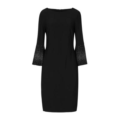 JOSEPH RIBKOFF ミニワンピース&ドレス ブラック 10 ポリエステル 94% / ポリウレタン 6% ミニワンピース&ドレス