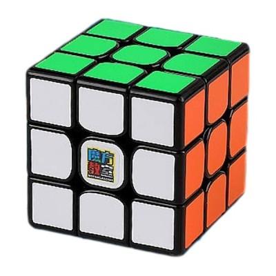 RS3 ブラック [MoYu 魔方教室] 3x3x3競技用スピードキューブ