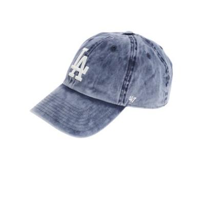 フォーティーセブン(47)帽子 メンズ ドジャース CLEAN UP キャップ B-WNCLN12GWS-NY 日よけ