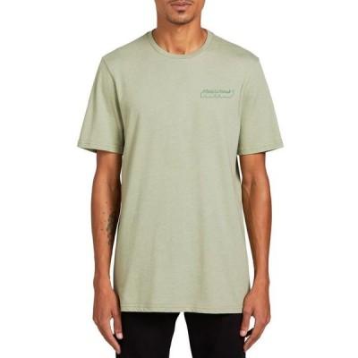 ボルコム メンズ Tシャツ トップス Men's Automate Short Sleeve T-shirt