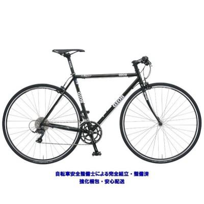 クロスバイク 2020 GIOS ジオス AMPIO アンピーオ ブラック SHIMANO CLARIS 16段変速 700C クロモリ