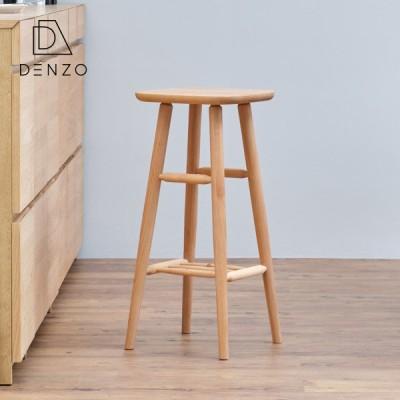 スツール 椅子 ハイスツール 木製 北欧 アルダー ノルン ISSEIKI
