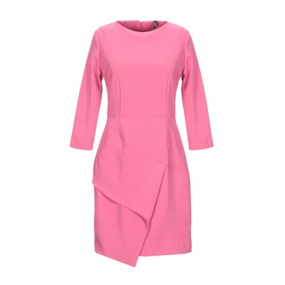 LUNATIC ミニワンピース&ドレス ライトパープル 42 ポリエステル 88% / ポリウレタン 12% ミニワンピース&ドレス