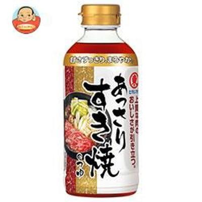 送料無料  ヒガシマル醤油  あっさりすき焼のつゆ  400mlペットボトル×12本入
