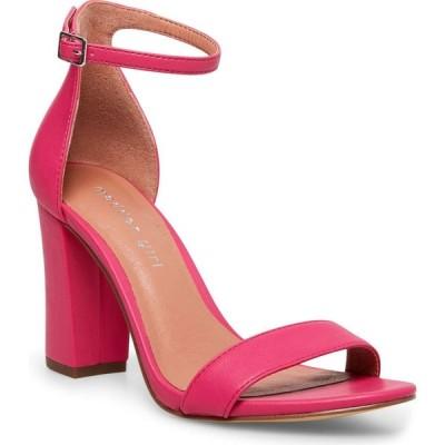 マッデン ガール Madden Girl レディース サンダル・ミュール シューズ・靴 Bella Two-Piece Block Heel Sandals Bright Berry