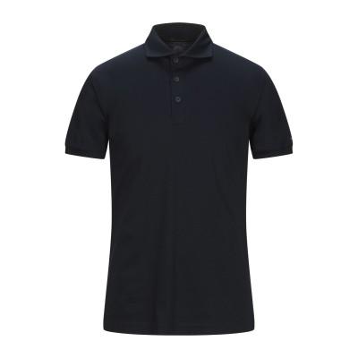 PEOPLE OF SHIBUYA ポロシャツ ダークブルー L コットン 100% ポロシャツ