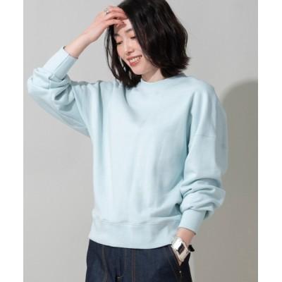 tシャツ Tシャツ 【her EUCLAID】ルーズスウェットプルオーバー