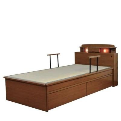 シングルベッド 畳ベッド 和風 和