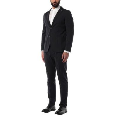 BARBATI スーツ ダークブルー 54 ポリエステル 60% / レーヨン 19% / ウール 19% / ポリウレタン 2% スーツ