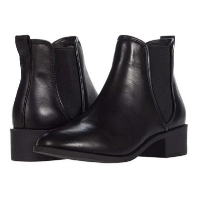 スティーブマッデン Dares Boot レディース ブーツ Black Leather