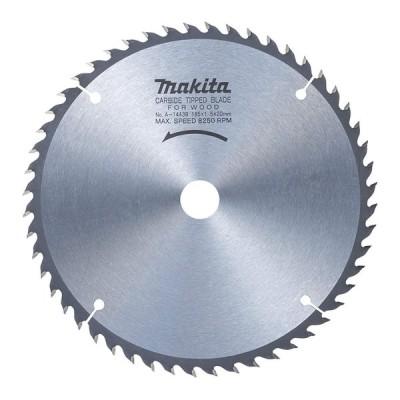 マキタ  丸ノコ・造作 一般木工用 チップソー 外径185mm X 刃数52 A-14439