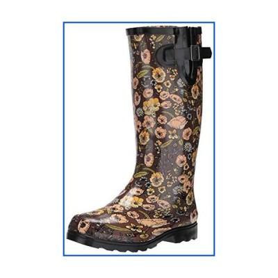 【新品】Nomad Women's Puddles Rain Boot, Retro Floral, 10 Medium US【並行輸入品】