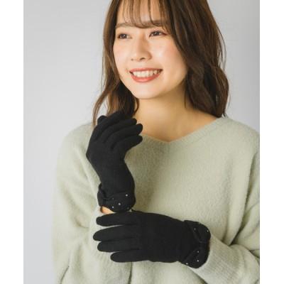 Rewde / ラインストーンリボングローブ(0R18-TB211) WOMEN ファッション雑貨 > 手袋