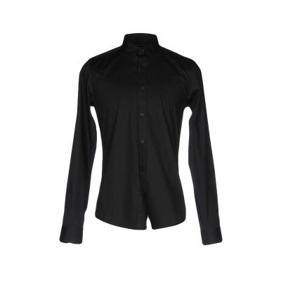 ONLY & SONS シャツ ブラック S コットン 97% / ポリウレタン 3% シャツ