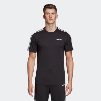 アウトレット価格 アディダス公式 ウェア トップス adidas M CORE 3ストライプス Tシャツ 半袖