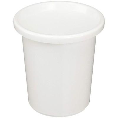アイリスオーヤマ ティルトケンガイ鉢 4号 ホワイト