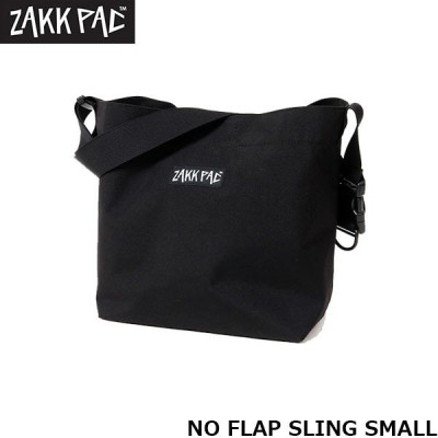 ザックパック ミニショルダーバッグ メッセンジャーバッグ NO FLAP SLING SMALL 斜め掛け カジュアル タウンユース ZAKK PAC MD29933
