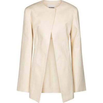 ジル サンダー Jil Sander レディース スーツ・ジャケット アウター Tailored cotton jacket Open Beige