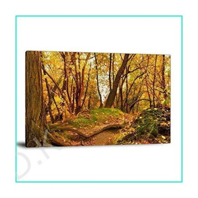 Autumn Deciduous Forest Beauty Canvas Art Poster and Wall Art Picture Print Modern Family Bedroom Decor Posters 20×30inch(50×75cm)