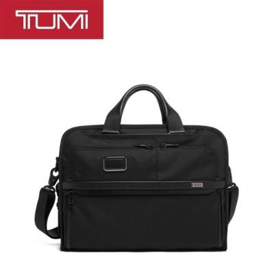 [正規品]送料無料 TUMI Alpha3 ビジネスバッグ ショルダーバッグ ブリーフケース オーガナイザー ポートフォリオ ブリーフ ブラック 2603108D3 117300-1041