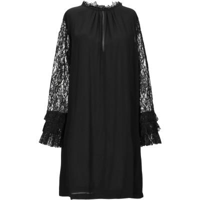 MARIUCCIA ミニワンピース&ドレス ブラック S ポリエステル 100% ミニワンピース&ドレス